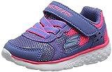 Skechers 81358N Tenis de Deporte para Niñas, color Azul/Rosa, 11
