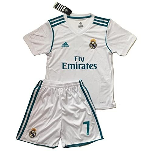 official photos 69bd1 c4ea9 VVBSoccerStore New #7 Ronaldo 2017/2018 Real Madrid Home ...