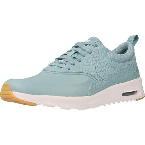 sale retailer 2a627 c0800 Nike Womens Air Max Thea PRM (8.5 B(M) US, Mica Blue