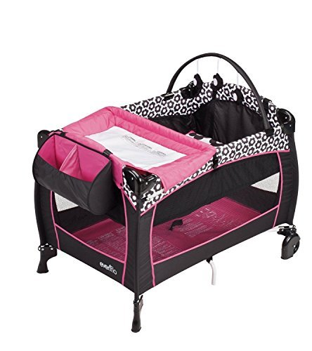 New Love NEW! Evenflo Portable BabySuite 300 with Dual-Pocket Fabric Console (Marianna) by Prathai (Image #2)