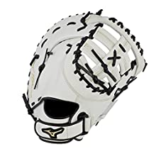 """Mizuno GXF50FPW MVP Prime Fastpitch Softball First Base Mitts, 13"""", Left Hand"""