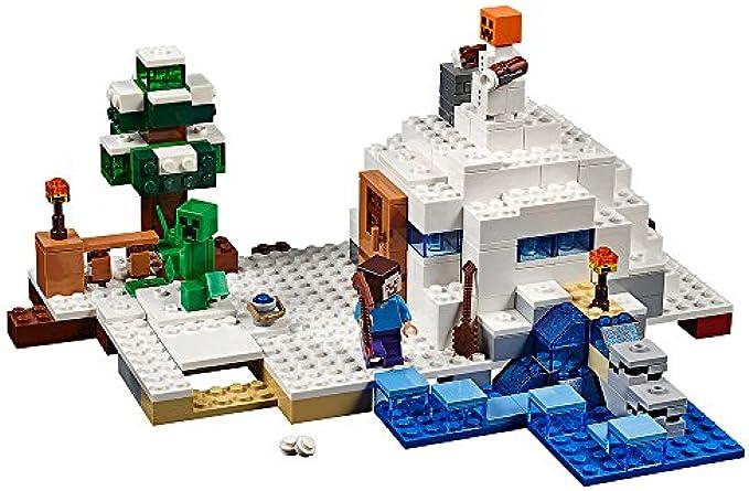LEGO Minecraft 21120 השלג