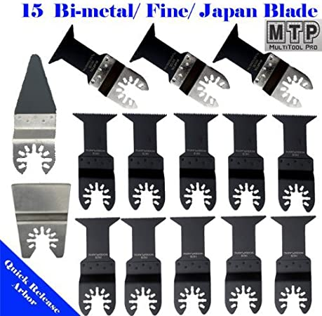 15 Wood Oscillating Multi Tool Saw Blades for DeWalt Porter Cable DREMEL Bosch