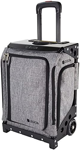 ZUCA Navigator Wheeled Suitcase with Built-in Seat Choose Your Color , FAA Airline Carry-On Compliant