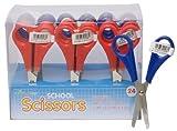 Pack of 24 School Scissors 5in/13cm