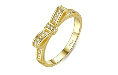 Image Unavailable. Image not available for. Color: Dixey Luxury Anillos Sortijas Oro 18k de Compromiso ...