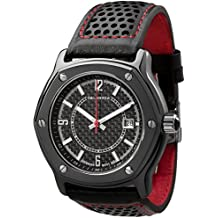 CALABRIA - Furtiva CarboTech LIMITED - Black Carbon Fiber Dial, Men's watch, Leather Band