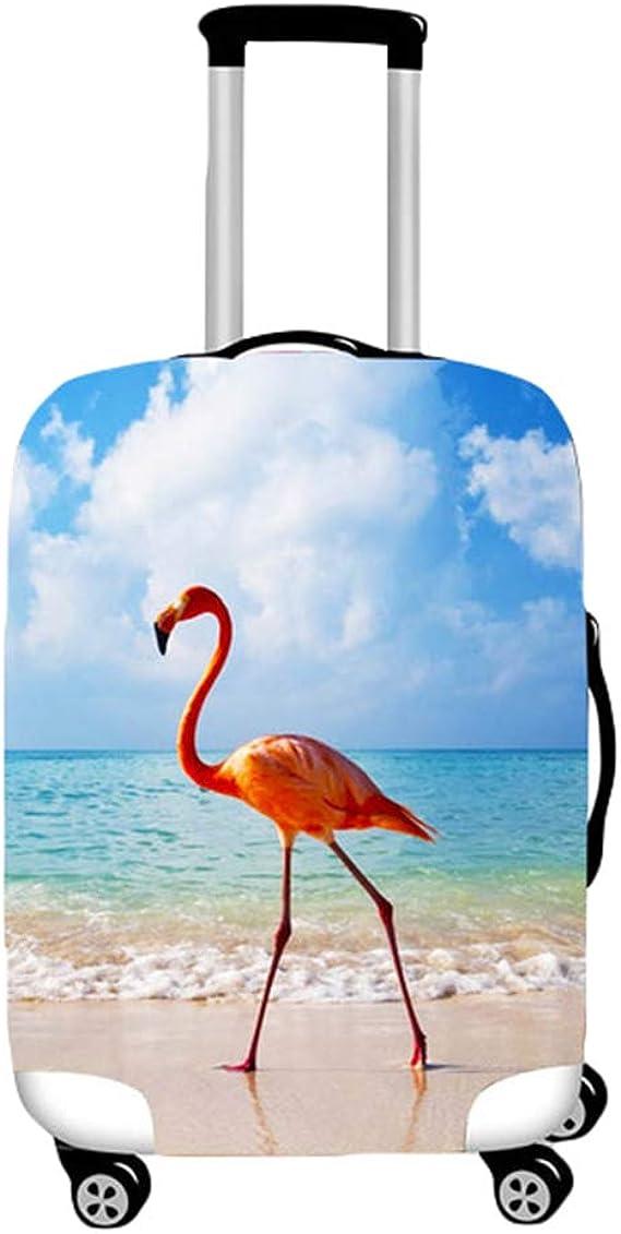 YiiJee Housse de valise bagage en tissu /Élastique Bagages Couverture Imprim/é Valise Couverture Protecteur housse de bagage