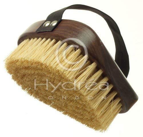 Hydrea London Walnut Wood Natural Bristle Body Brush WWS13NH B00EBQZPR2