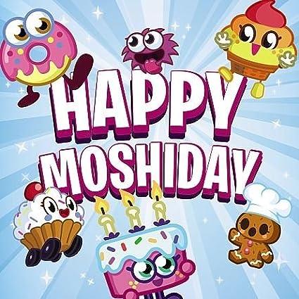Amazon.com: Moshi Monsters – Tarjeta de felicitación de ...