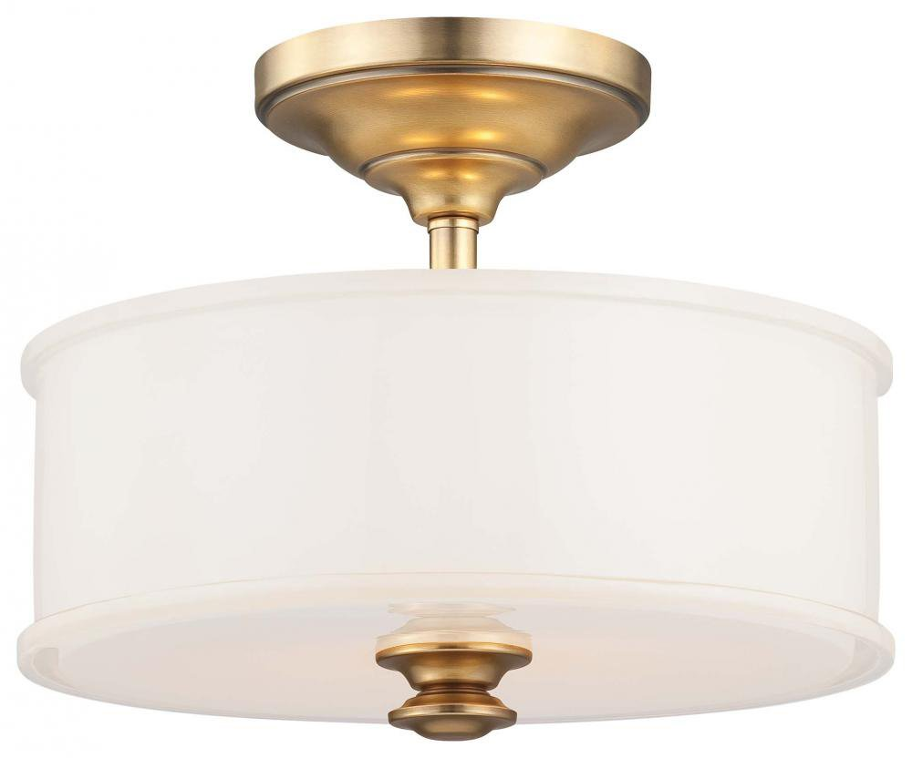 Minka lavery 4172 249 2 light semi flush liberty gold finish minka lavery 4172 249 2 light semi flush liberty gold finish close to ceiling light fixtures amazon arubaitofo Image collections