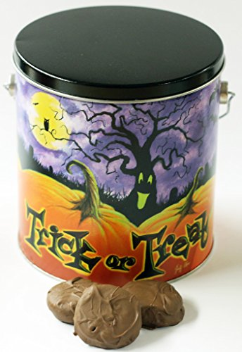 Scott's Cakes Milk Chocolate Covered Peanut Butter Oreos in a Halloween Pumpkin Patch Pail -