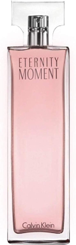 Calvin Klein Eternity Moment - Agua de perfume vaporizador, 100 ml