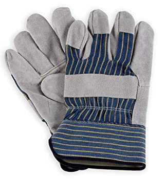 Men's Leather Work Gloves - Leather Palm - 3106 - by Wells Lamont - Size XS