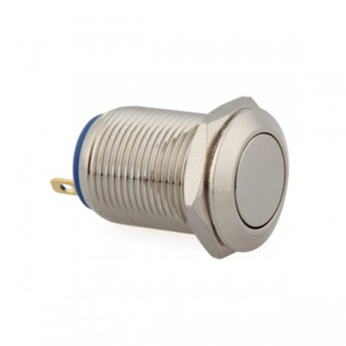 Lovelifeast 12/mm 12/V momentan/é Interrupteur on//off Boutons poussoirs pour auto Mini Auto durable Bateau v/éhicule