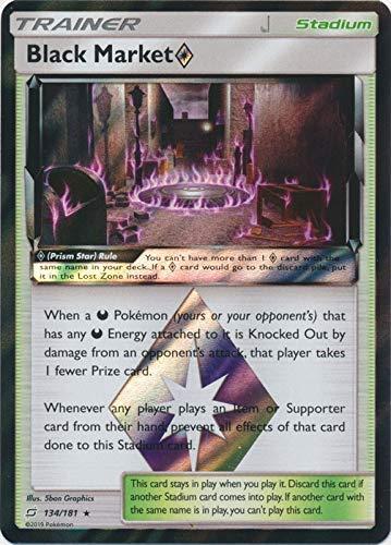 Black Market Prism Star - 134/181 - Holo Rare - Team Up