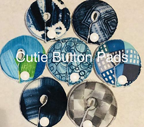 Cutie Button Pads G/j Tube Pad (Reusable Shapes 7)