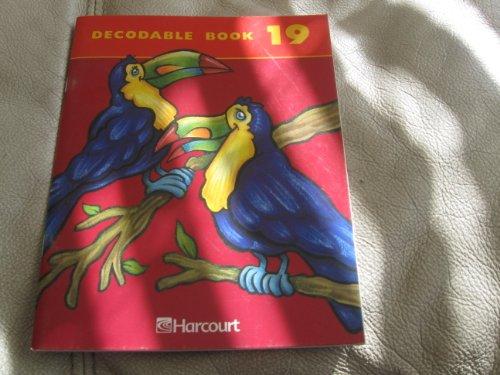 (Harcourt School Publishers Trophies: Decodable Book Bk19 Gr2)
