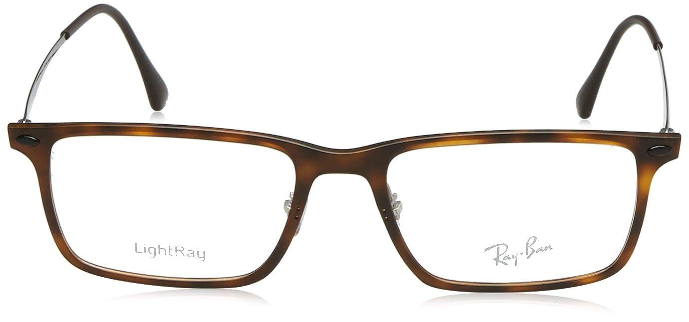 61e1b8a011 Amazon.com  Ray-Ban Vista RX 7050 5200 Eyeglasses Matte Havana  Shoes