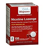 Stop Smoking Aid  For Those Who Smoke Their First Cigarette More Than 30 Minutes After Waking Up Includes User's Guide Walgreens Pharmacist Recommended* If you smoke your first cigarette within 30 minutes of waking up, use Nicotine Polacrilex Lozenge...
