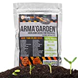 20,300 Heirloom Vegetable Seeds - Non-GMO, Non-Hybrid, Open Pollinated Seeds to Grow 32 Variety of America Heritage Vegetables - Essential Survival Food for Off-the-Grid Preppers Garden Review