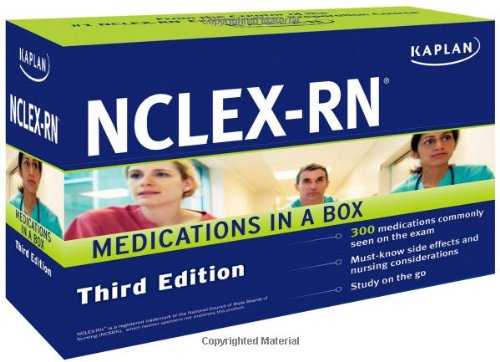 Kaplan NCLEX-RN Medications in a Box