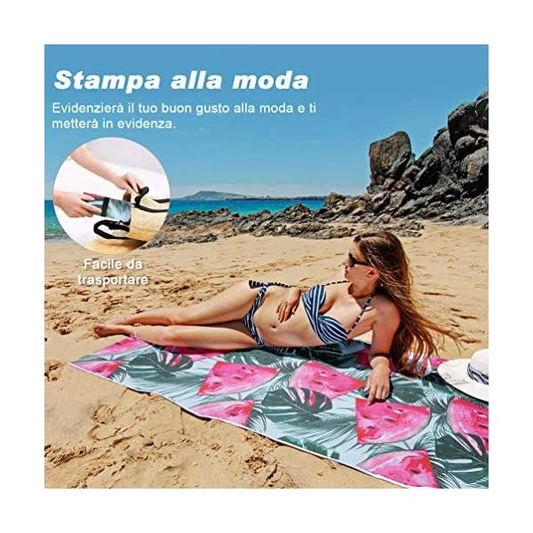 VBIGER Telo Mare Asciugamani Mare Abbigliamento da Mare Telo Mare Donna Bikini Coprire 6 spesavip
