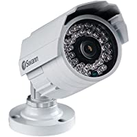 IP Camera, Bullet, 2-23/64 in. L, 12V, White