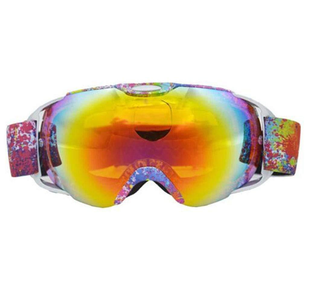 BCX Homehd Double Anti-Fog Lenses Goggle di protezione per alpinismo invernale outdoor