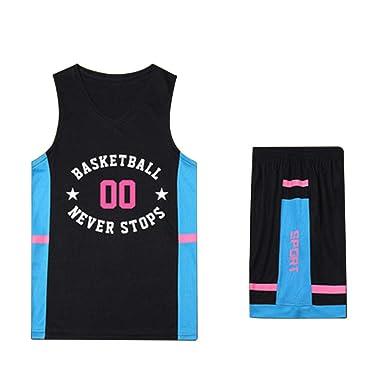 LOGER Uniformes de Baloncesto para Hombres y Mujeres, Camisetas de ...