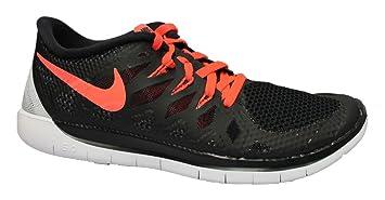Nike Free 5.0 (GS) Laufschuhe black-bright crimson-white - 36,