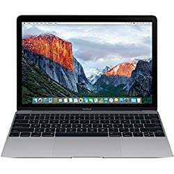 Apple MacBook MLH82LL/A 12-Inch Laptop with Retina Display, Space Gray, 512 GB (Discontinued by Manufacturer)