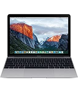 Apple MacBook MLH72LL/A 12-Inch Laptop with Retina Display, Space Gray, 256 GB (Discontinued by Manufacturer)