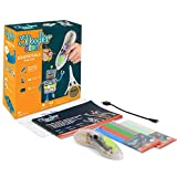 3Doodler Start 3D Pen for Kids, Easy to Use STEM Educational Toy 3D Printing Pen Drawing Art Set with 1 Doodling Speed for Easy Control, for Boys & Girls Ages 6 & Up (Clear Pen)