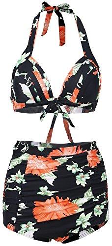 Simplicity Womens Vintage Bikini Swimsuit