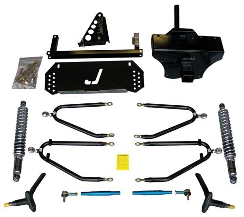 Yamaha G22 Golf Cart 6''-8'' Jake's Long Travel Lift Kit by Golf Cart King