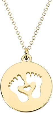 14K Gold Single Butterfly Cutout Disc Necklace by JEWLR