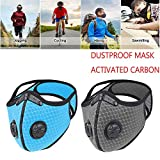 WISREMT Cycling Face Mask, Nylon Spandex