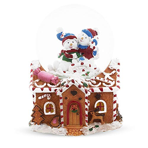 The 10 best gingerbread house snow globe for 2019