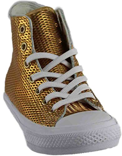 4a7afb4bb449 Converse Chuck Taylor All Star Hi Gold White White (Medium   5 B