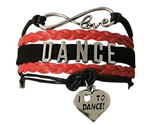 Silver Ballet Slippers Jewelry - Dance Bracelet- Girls Dance Jewelry - Love Dance Charm Bracelet- Gift For Dance Recitals & Dancers