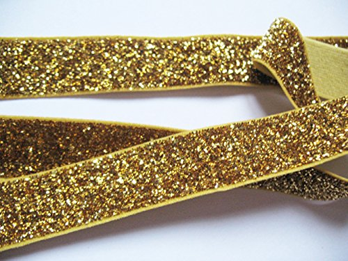 Compare Price Elastic Hair Ties Glitter On Statementsltd Com