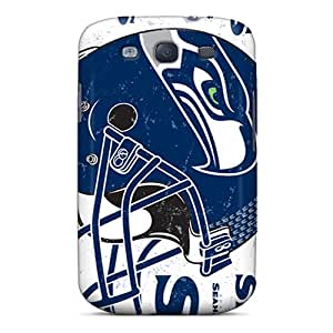 Durable Seattle Seahawks Back Cases/covers For Galaxy S3