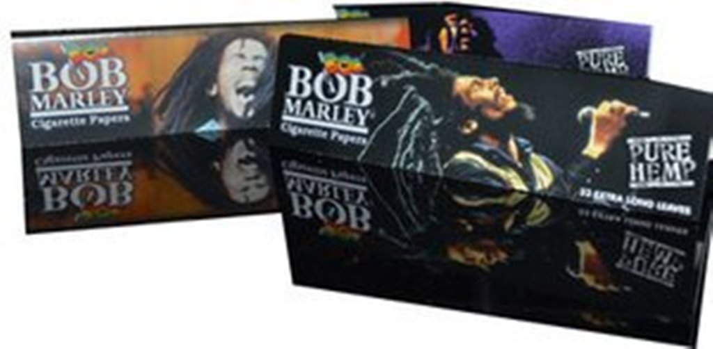 Bob Marley Pure Hemp King Size Rolling Papers 10 Booklets by Trendz