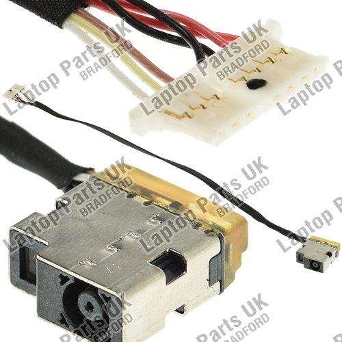Laptop Parts UK (UK VAT Registered) HP p/n: 799749-F17 DC Power Jack, Connecteur Alimentation, Douille, Port du connecteur de câ ble Port du connecteur de câble