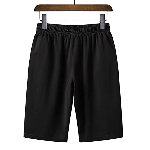 0a669348b2 Dasuy Plus Size Men's Bodybuilding Gym Running Workout Shorts Sports  Athletic Quick Dry Pants with Zipper