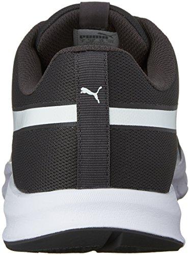 Sneaker da uomo Flexracer Fashion, Asphalt / Puma White, 12 M US