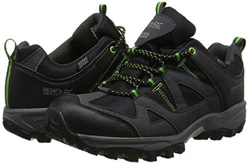 Regatta Schwarz 40 Black Extgrn Schwarz amp; Trekking Herren Low Gatlin EU Wanderhalbschuhe UK 7 rA6wryqZP