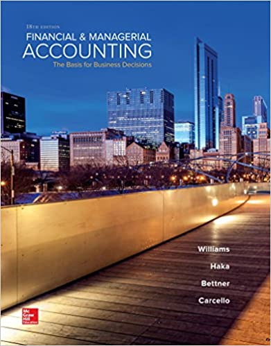 Financial managerial accounting jan williams susan haka mark s financial managerial accounting 18th edition fandeluxe Images