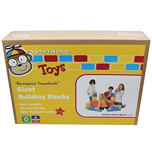 Giant Building Blocks (24 Pieces)